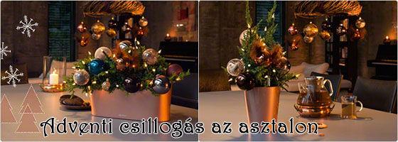 Lechuza Christmas Table