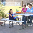 Összecsukható Piknik asztal 183x76cm