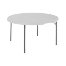 Félbehajtható kerek asztal 122 cm