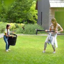 Fiskars Pop-up kerti gyűjtőzsák (L) 219L