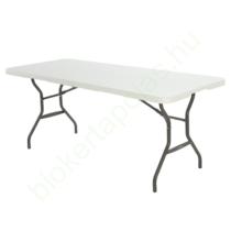 Összecsukható kerti bútor szett (asztal + 2 sörpad) 183 cm
