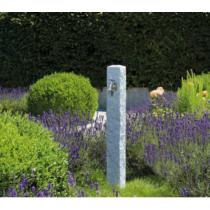 Kő hatású kerti kút Világos szürke