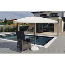 Állítható EXTRA erős napernyő fehér színben