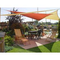 Háromszög alakú HDPE (Polyethylene) napvitorla