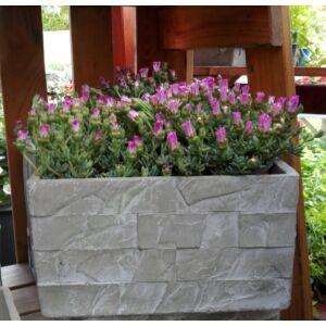 Balkonláda Kőből MIRO Kocka 28cm