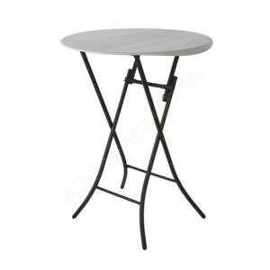 Összecsukható kerek bisztró asztal 84 cm
