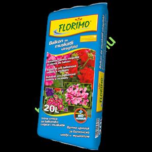 Florimo Muskátli és Balkon virágföld 20 liter