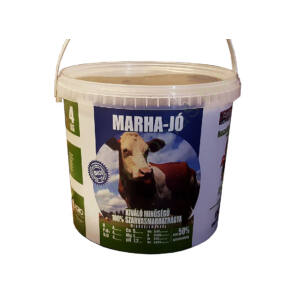 Marha-jó marhatrágya granulátum 4kg