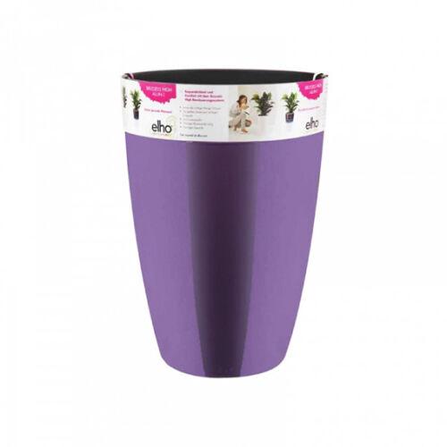 Önöntözős műanyag lila kaspó 22 cm