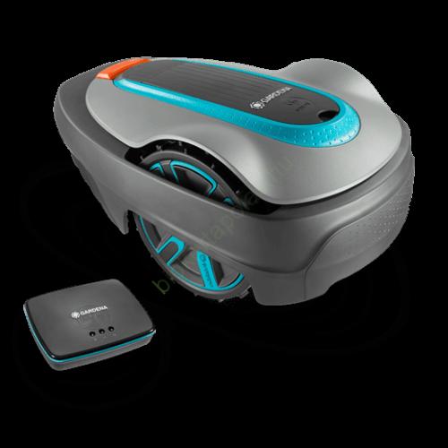 Gardena Robotfűnyíró smart SILENO city 500 készlet