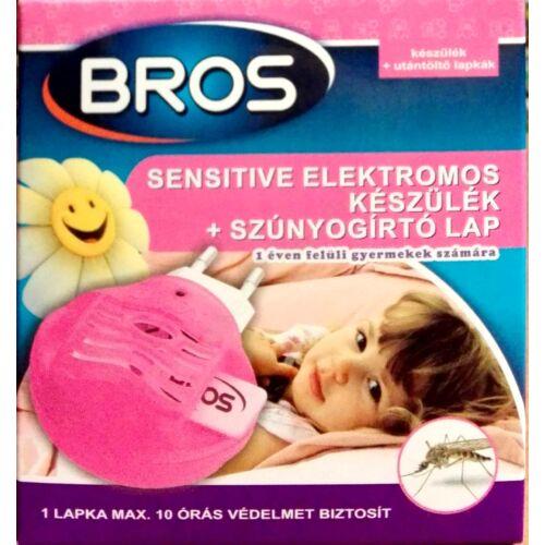 Bros Sensitive Elektromos Szúnyogirtó készülék + lapkák